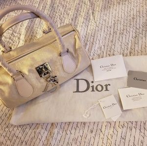Christian Dior - off white Canvas Bag